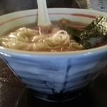 ダイニング 麺夢や - 醤油味ワンタンメン 2014.12