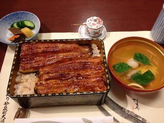 ぬりや 泉町店 - 上うな弁(4000円)