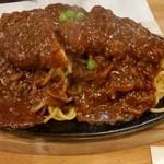 レストラン泉屋 - 若者達の定番 スパカツ(税込950円)