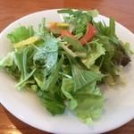 T.C.cafe - 料理写真:パスタセットのサラダ☆