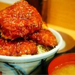 トンカツ 浅井 - ソースかつ丼