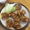 大衆中華 宝来 - 料理写真:鳥の唐揚げ定食