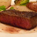 テーブルナナ - 熟成肉 内もも肉断面
