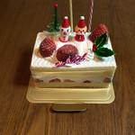パティスリー マナ - クリスマスケーキ