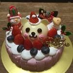 菓乃実の杜 - クリスマスベア