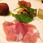 トラットリア ピノ - 前菜盛り合せ5種