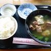 佐久田パーラー - 料理写真:ヤギ汁食べ放題(もちろん定食になってます)