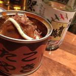 33686447 - たこ焼きの缶詰。食感は全く違うけど味は確かにたこ焼きです!