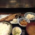 太平山酒蔵 - 焼魚定食
