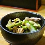 江戸政 - 2014.12 鳥からし和え(300円)