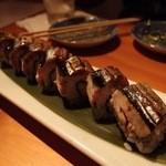 ぼたん屋 - 秋刀魚のかば焼き寿司
