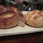 るぱたき - 無花果のパンとオレンジのパン