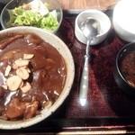 日本橋 ぼんぼり - 地鶏炭火焼きカレー丼