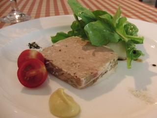 ビストロ・デジャ - Aランチ:豚と白レバーのパテ