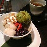 タバサ - あんみつ(抹茶アイス)