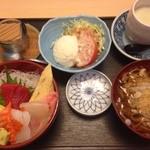 誠寿司 - 料理写真:ミニちらしセット1000円
