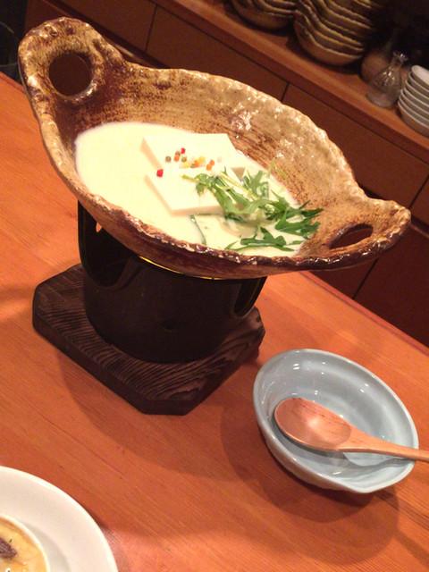 京都豆八 - 京風女子会コース¥3500 ぶぶ湯豆腐