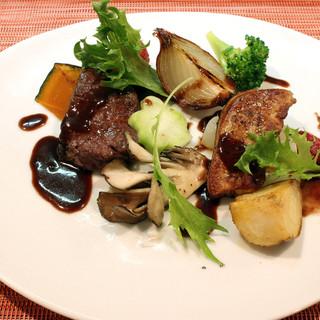 北海道の素晴らしい素材を活かした料理の数々
