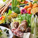 地鶏坊主 - 贅沢鍋,魚,鶏を楽しめる【贅沢鍋コース】