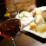 夜景のみえる 北海道原始焼き酒場ルンゴカーニバル - ワイン梅酒