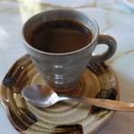 三和 - ドリンク写真:2014.12 コーヒーはやや薄味
