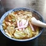 33695811 - スープ入焼そば750円♪