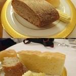 綱町三井倶楽部 - 2014パンは3種類