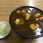翁そば - カレー南蛮(650円)