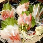 升源 - 本日の5点盛り、茅ヶ崎産魚が素晴らしい!