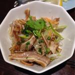 香港厨房 - 豚耳の細切り和え
