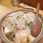 円 - 料理写真:白子鍋