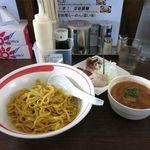 麺部屋 綱取物語 - 濃厚えびつけ麺(じゃらん企画、500円)