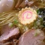客野製麺所 - 煮玉子ラーメン