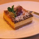メルキュール カフェ - ベイクドチーズケーキ