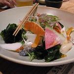 魚魯魚魯 - サラダにはからすみが入ってた