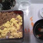 佐久平パーキングエリア(上り)軽食コーナー - 佐久鯉の旨煮重