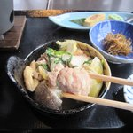 味喰笑 - 若の富士特製 ちゃんこ鍋御膳 1,200円