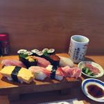 あがり一丁 - 料理写真:特上にぎり   1800円 最高のパフォーマンス!