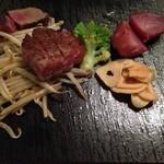 鉄板焼 集 - ステーキ