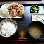 佐藤養三郎商店 - 鶏のから揚げ定食