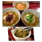 禅 - お茶漬け3種と「高菜」