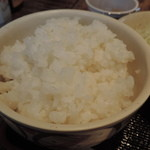 赤鶏農園 - ご飯