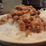 赤鶏農園 - 納豆ご飯