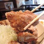 赤鶏農園 - 唐揚 アップ