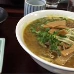 難波亭本店 - カレー肉うどん