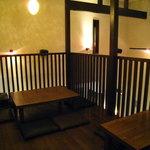 Louga - ロフトの座敷席
