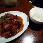 さくら厨房 - 酢豚ランチ/酢豚とご飯