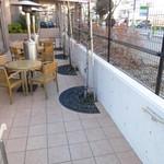 ネイバーフッド アンド コーヒー - オープンエア