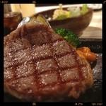 ステーキの神戸屋 - サーロイン神戸牛\8,800yen⭐️course  МёЯЯУ X'маs┌iii┐*。゜o。('(ェ)'*)♪⛄️