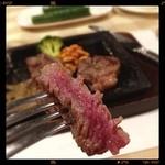 ステーキの神戸屋 - サーロイン⭐️rare  МёЯЯУ X'маs┌iii┐*。゜o。('(ェ)'*)♪✨